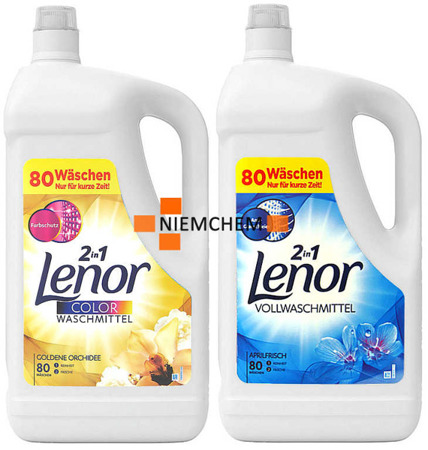 Lenor Golden Orchidee + Aprilfrisch Żel do Prania 160pr  DE