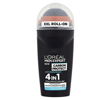 Loreal Men Expert Carbon Protect Antyperspirant Roll On XXL 50ml UK