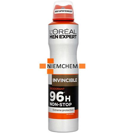 Loreal Men Expert Invincible Dezodorant Spray 250ml UK
