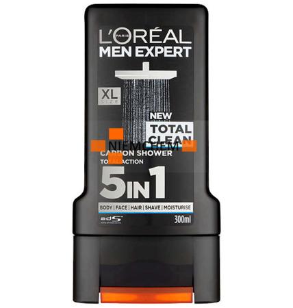 Loreal Men Expert Żel  pod Prysznic Total Clean 300 UK