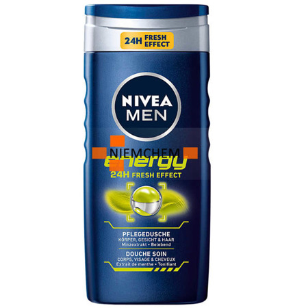 Nivea Men Energy Męski Żel pod Prysznic 250ml DE