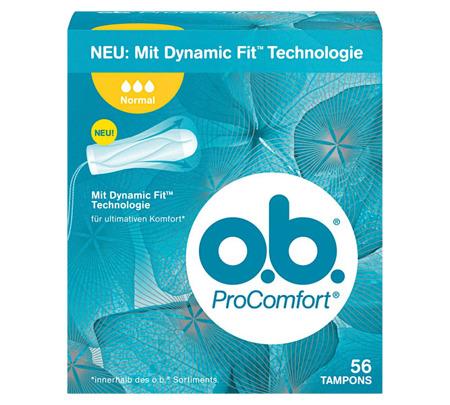 OB Pro Comfort Normal Tampony 56szt DE