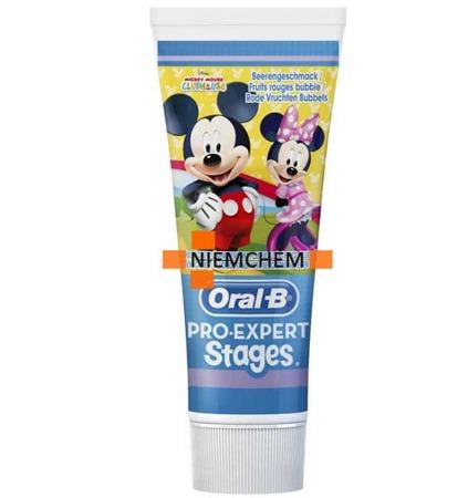 Oral-B Stages Mickey Jagodowa Pasta do Zębów dla Dzieci 75ml UK
