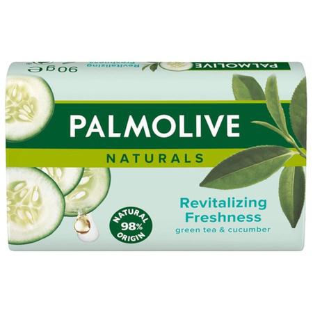 Palmolive Revitalizing Freshness Zielona Herbata i Ogórek Mydło Kostka 90g