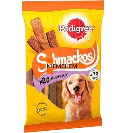 Pedigree Schmackos Meat Variety Przysmak dla Psa 20szt UK