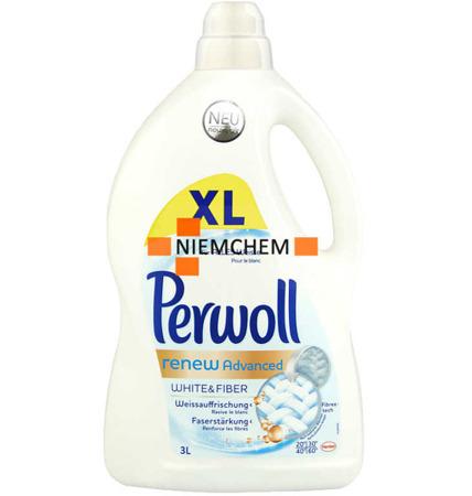 Perwoll Weiss Advenced Żel Prania Białego 3L XL DE