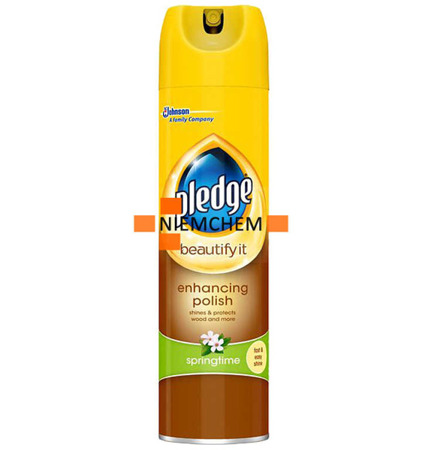 Pledge/ Pronto Wood Springtime Spray do Drewna Mebli 250ml UK