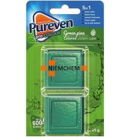 Pureven Green Barwiąca Kostka do Spłuczki WC x2  UK