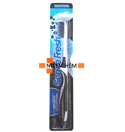 Sencefresh Charcoal Szczoteczka do Zębów z Węglem NL
