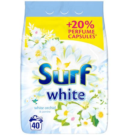 Surf White Orchid & Jasmine Proszek do Prania 40pr 2,6kg