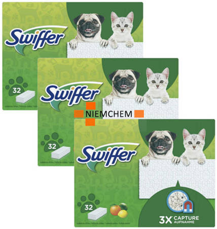 Swiffer Citrus Perfumowane Ściereczki do Mopa 96szt DE