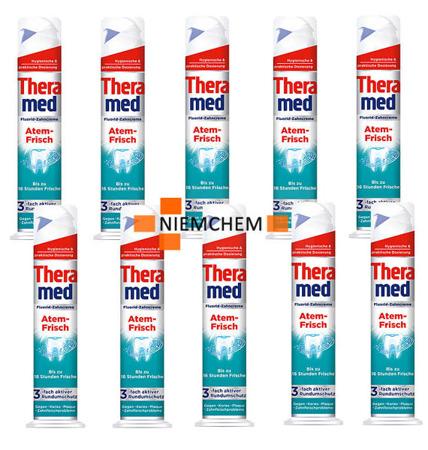 Theramed Atem-Frisch Pasta do Zębów Tuba 10szt DE