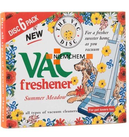 Vac Summer Meadow Zapach do Odkurzacza 6szt UK