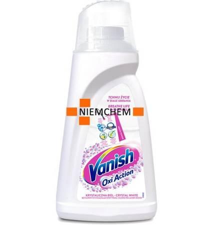 Vanish Oxi Action White Odplamiacz do Białego Płyn 1,5L PL