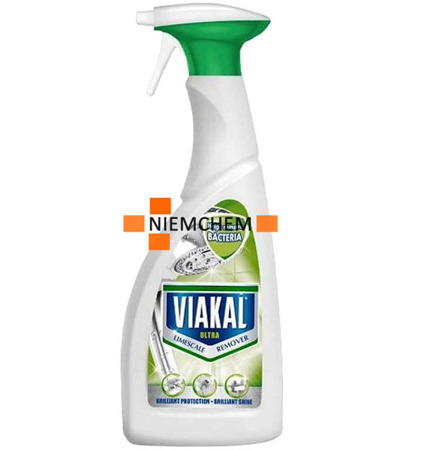 Viakal Antikal Ultra Spray na Kamień do Łazienki 500ml UK