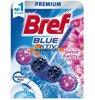 Bref Blue Świeże KwiatyZawieszka do WC Kulki Barwiące Niebieska Woda PL